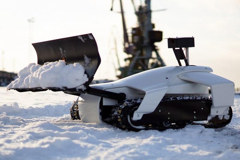 Автономный снегоуборщик