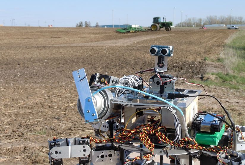 Робототехника в сельском хозяйстве